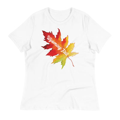 Wyoming Fall Women's Relaxed T-Shirt