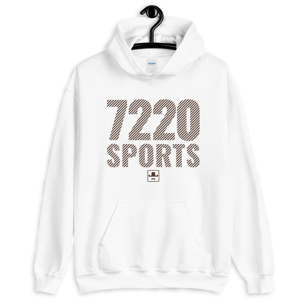 7220sports Striped Unisex Hoodie