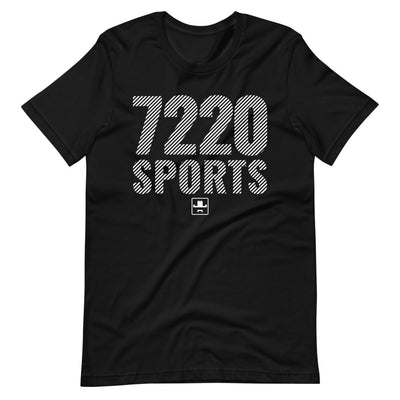 7220sports Striped Short-Sleeve Unisex T-Shirt