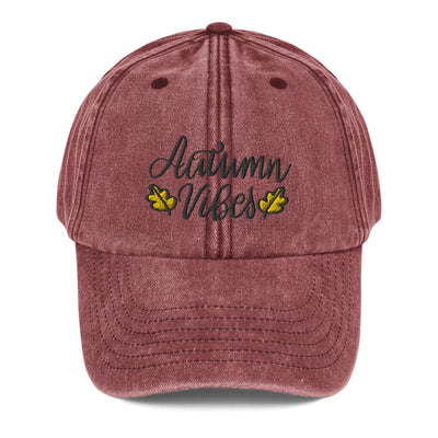 Autumn Vibes Vintage Hat