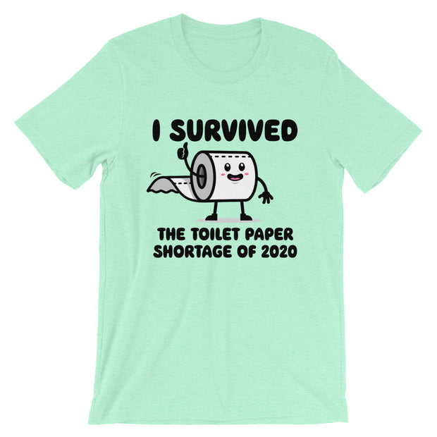 I Survived The TP Outage Unisex Short Sleeve - Light Colors