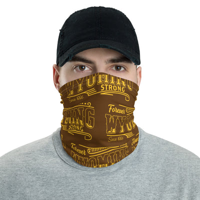 Wyoming Strong Strapless Facemask