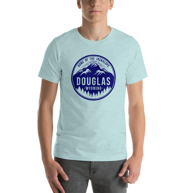 Douglas Mountain Circle Short-Sleeve Unisex T-Shirt