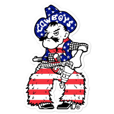 Patriotic Pistol Pete stickers