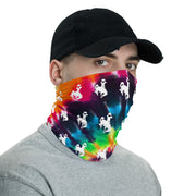Tie-Dye Steamboat Strapless Facemask