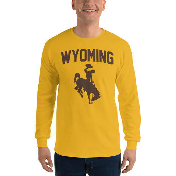 Traditional Wyoming Long Sleeve T-Shirt