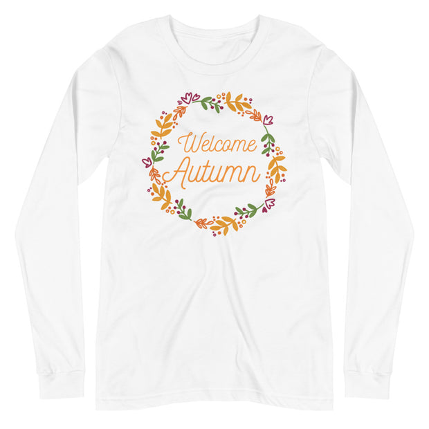 Welcome Autumn Unisex Long Sleeve Tee