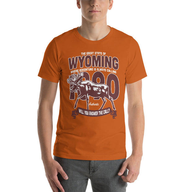 Moose Wyoming Unisex T-Shirt