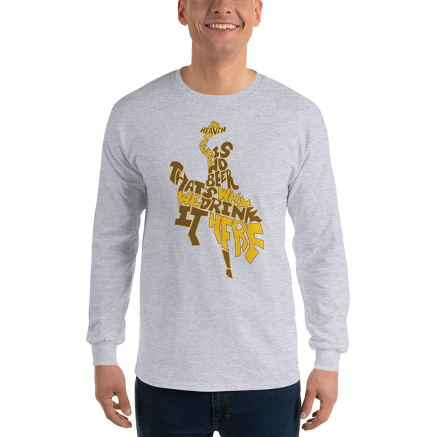 Beer Song Unisex Long Sleeve Shirt