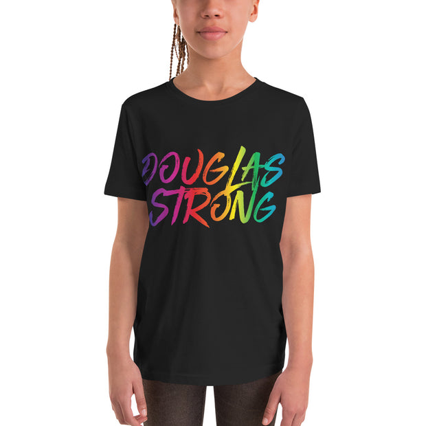 Douglas Strong Rainbow Youth Short Sleeve T-Shirt