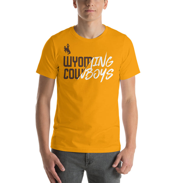 Wyoming Reveal Unisex T-Shirt- Gold