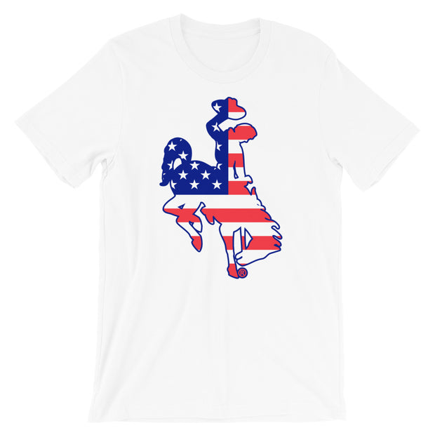 Patriotic Steamboat Unisex T-Shirt