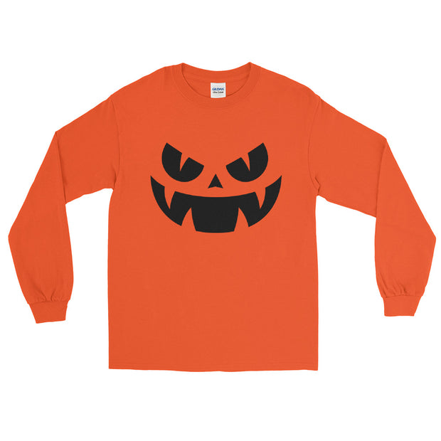 Sinister Pumpkin Long Sleeve T-Shirt