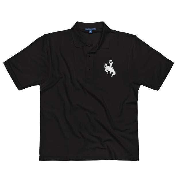 Wyoming Embroidered Polo Shirt