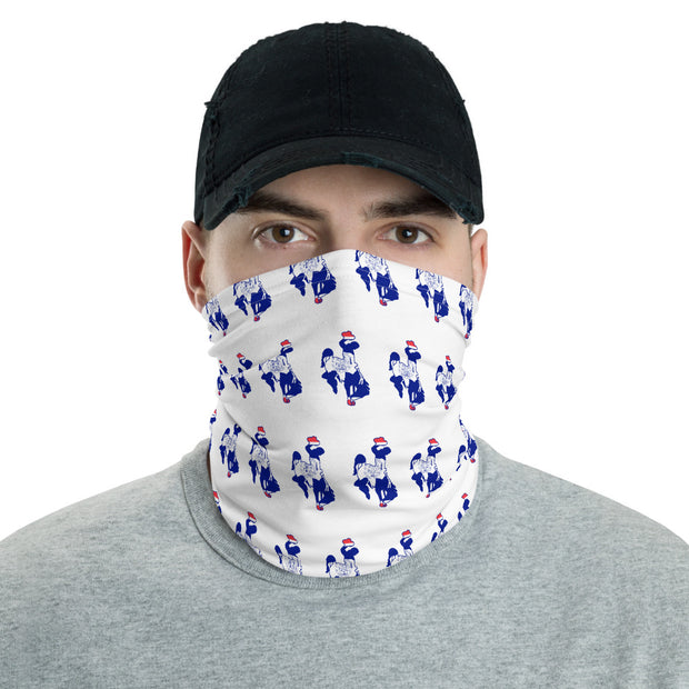 State Flag Steamboat Strapless Facemask