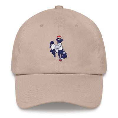Steamboat Wyoming Flag Dad hat
