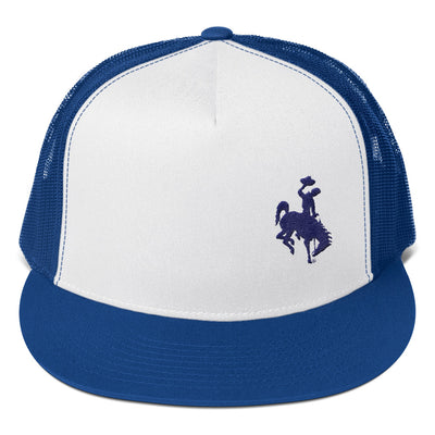 Wyoming Blue Trucker Cap