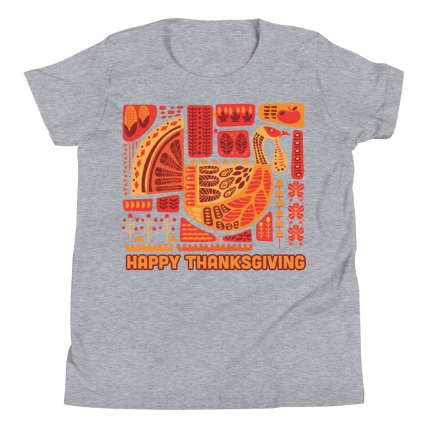 Thanksgiving Youth Short Sleeve T-Shirt
