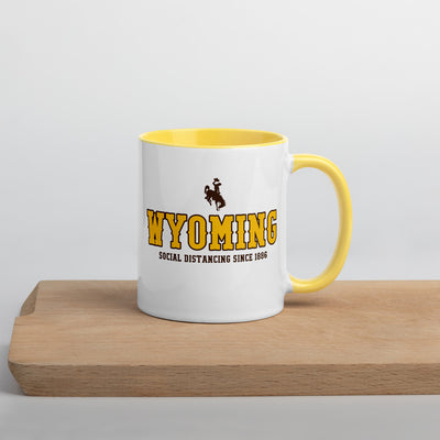 Wyoming Social Distancing Mugs