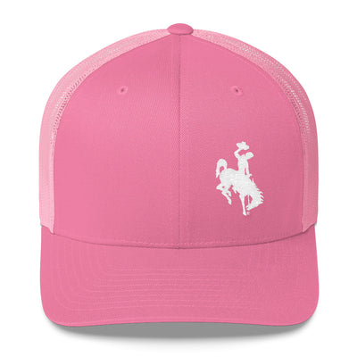 Wyoming Pink Trucker Cap
