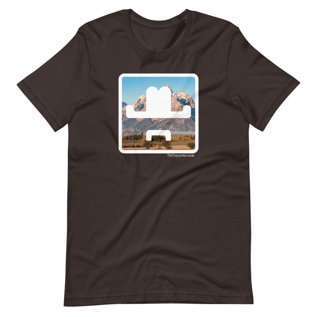 7220sports Tetons Short-Sleeve Unisex T-Shirt
