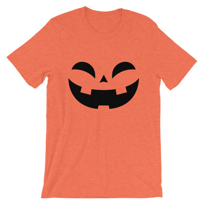 Happy Pumpkin Short-Sleeve Unisex T-Shirt