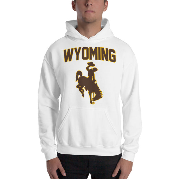 Traditional Wyoming Hooded Sweatshirt