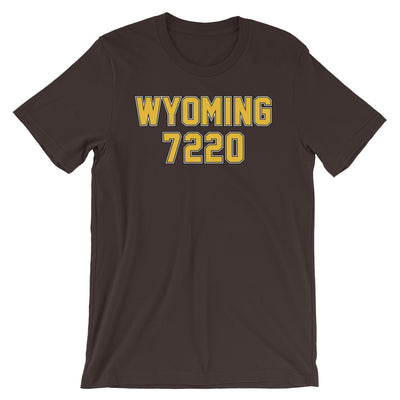 Wyoming Superhero 7220 Unisex Fan Shirt