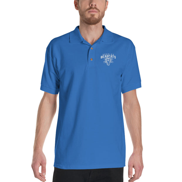 Traditional Bearcat Embroidered Polo Shirt