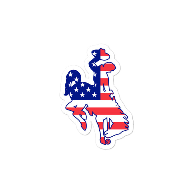 Patriotic Steamboat stickers
