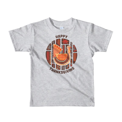 Thanksgiving Circle Short sleeve kids t-shirt