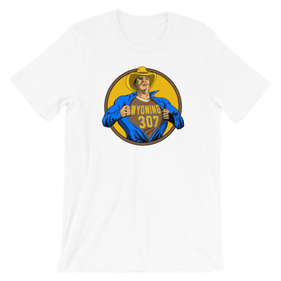 Wyoming Superhero 307 Unisex Shirt