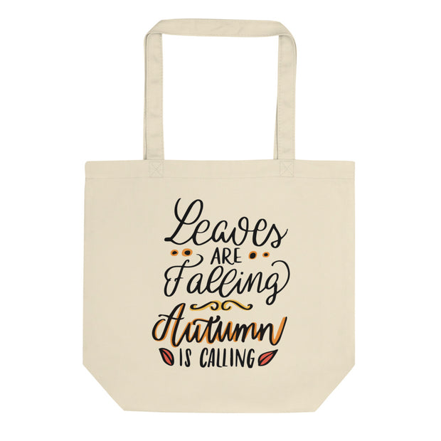 Leaves are Falling Eco Tote Bag