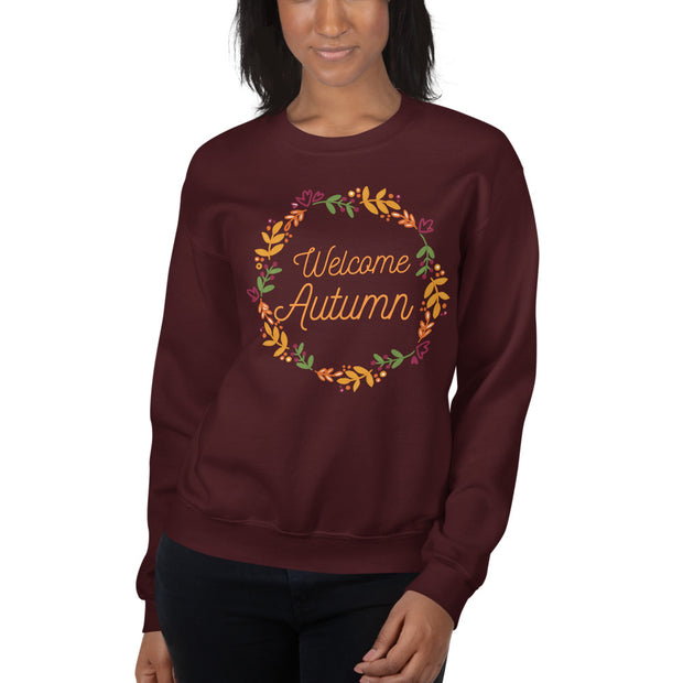 Welcome Autumn Unisex Sweatshirt
