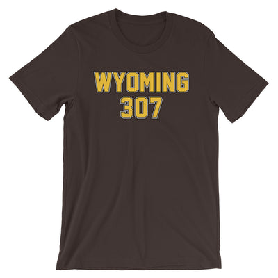 Wyoming Superhero 307 Unisex Fan Shirt