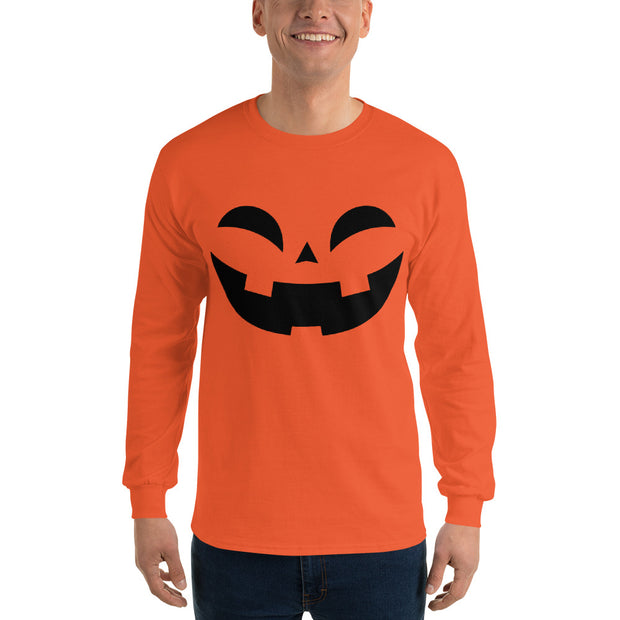 Happy Pumpkin Long Sleeve T-Shirt