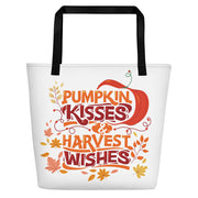Pumpkin Kisses and Harvest Wishes Bag