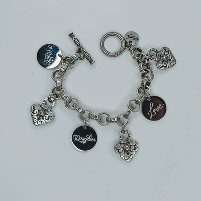 Mother, Daughter Love Bracelet - Beauty In Stone Jewelry