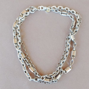 Triple Chain Necklace