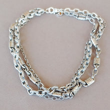 Load image into Gallery viewer, Triple Chain Necklace