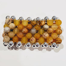 Load image into Gallery viewer, Stone Cuff Bracelet Choose Color