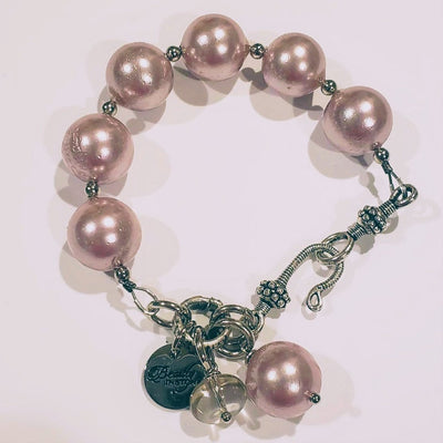 Genuine Pink Pearl Bracelet - Beauty In Stone Jewelry