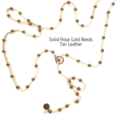 Lariat Rose Gold $99 - Beauty In Stone Jewelry