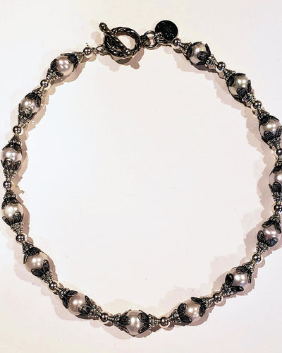 Vintage Pearl Necklace - Beauty In Stone Jewelry