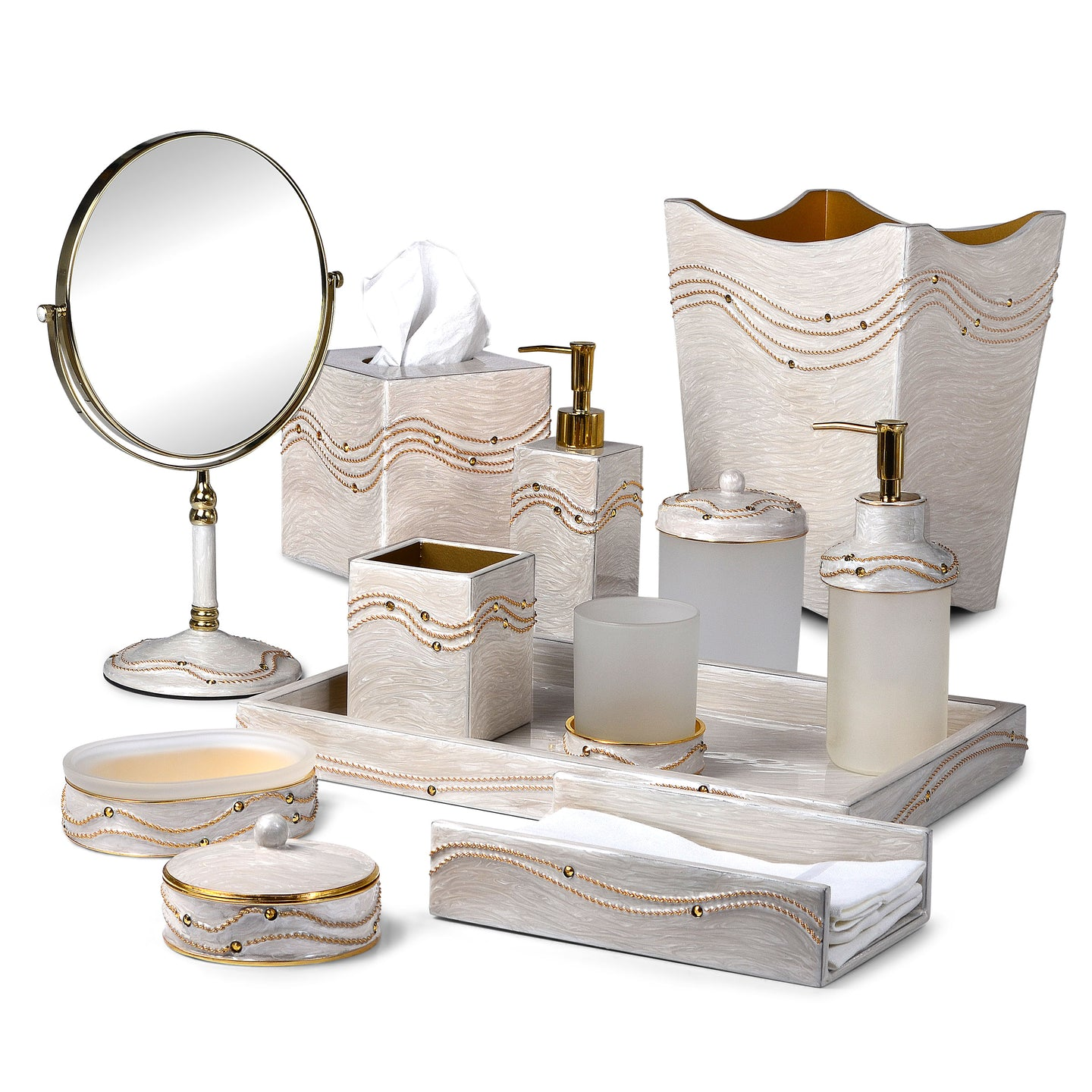 Mike + Ally | Luxury Bathroom Accessories