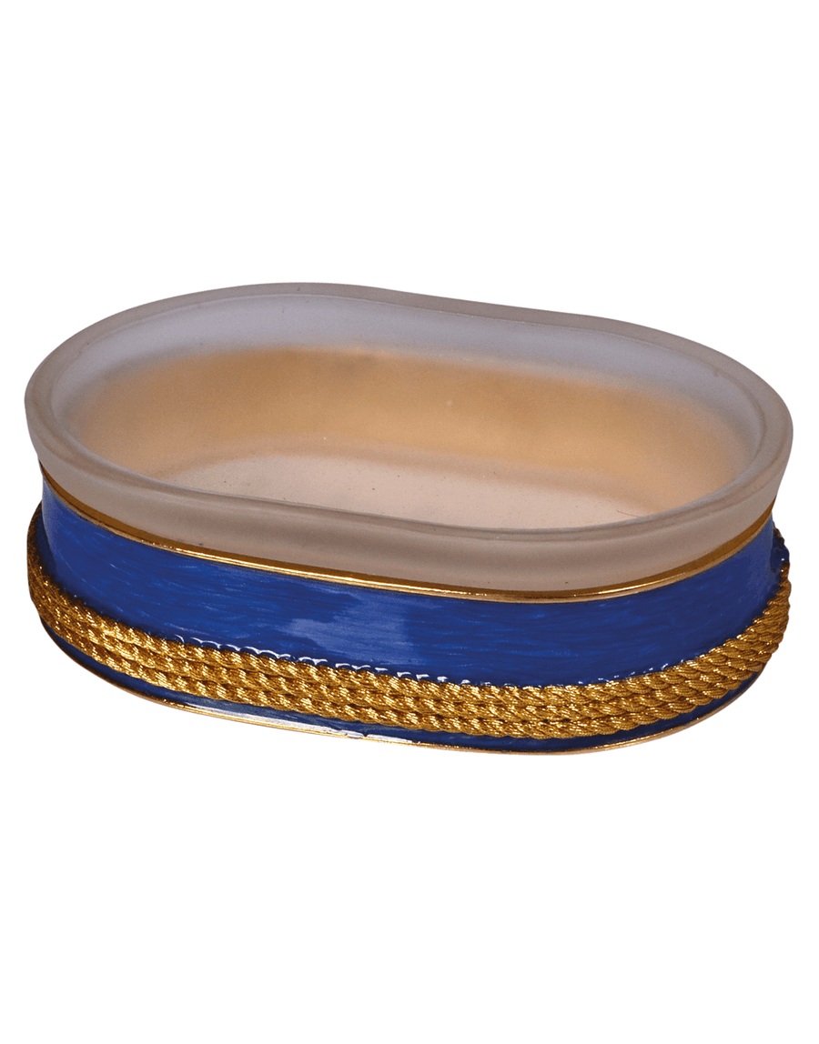Luxury French Blue Soap Dish - Admiral
