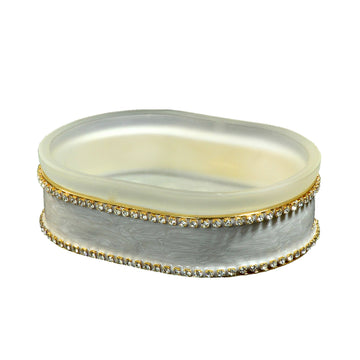 Moonglow soap dish - audrey