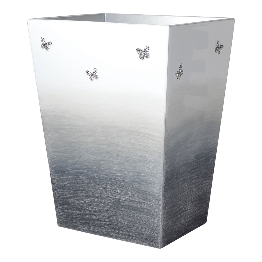 Elegant Bathroom Butterfly Wastebasket