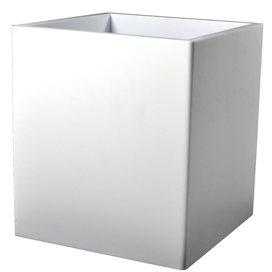 Corian Wastebasket - Contours Modern Bathroom Accessory