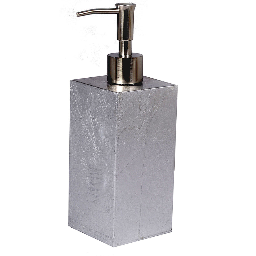 silver lotion pump - eos Modern Bath Accessory